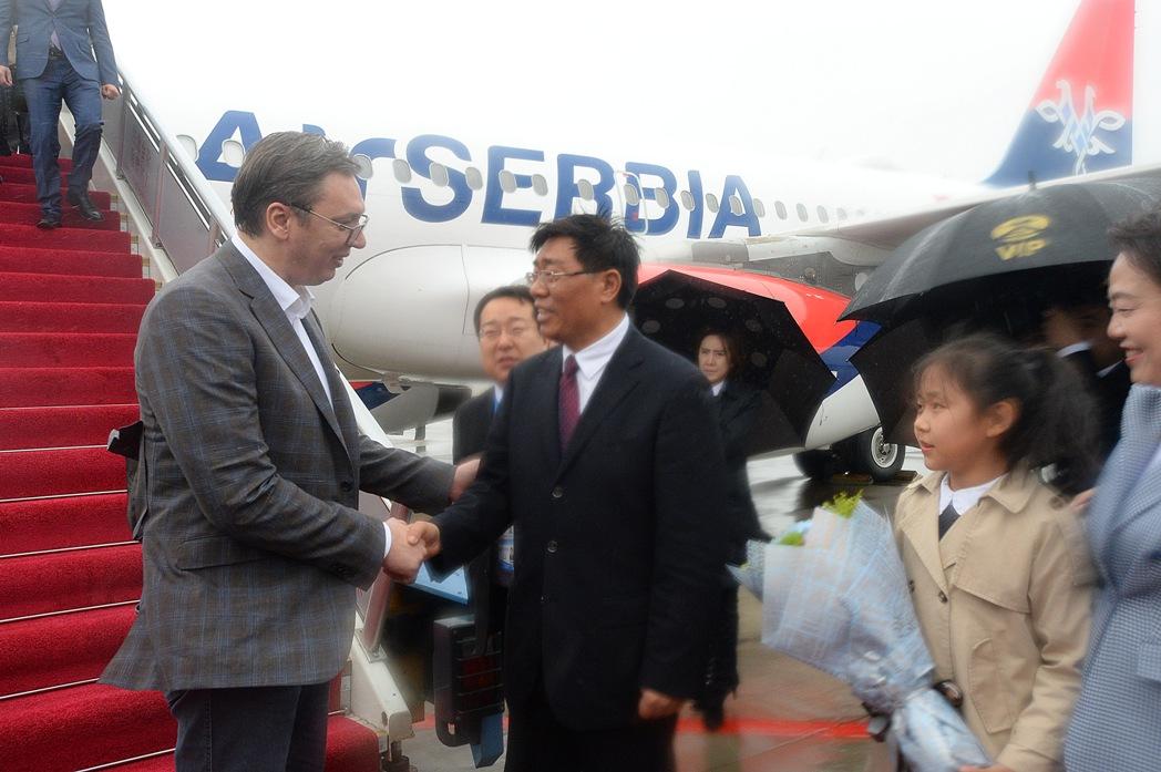 Doček za Vučića u Pekingu uz gardu kineske vojske