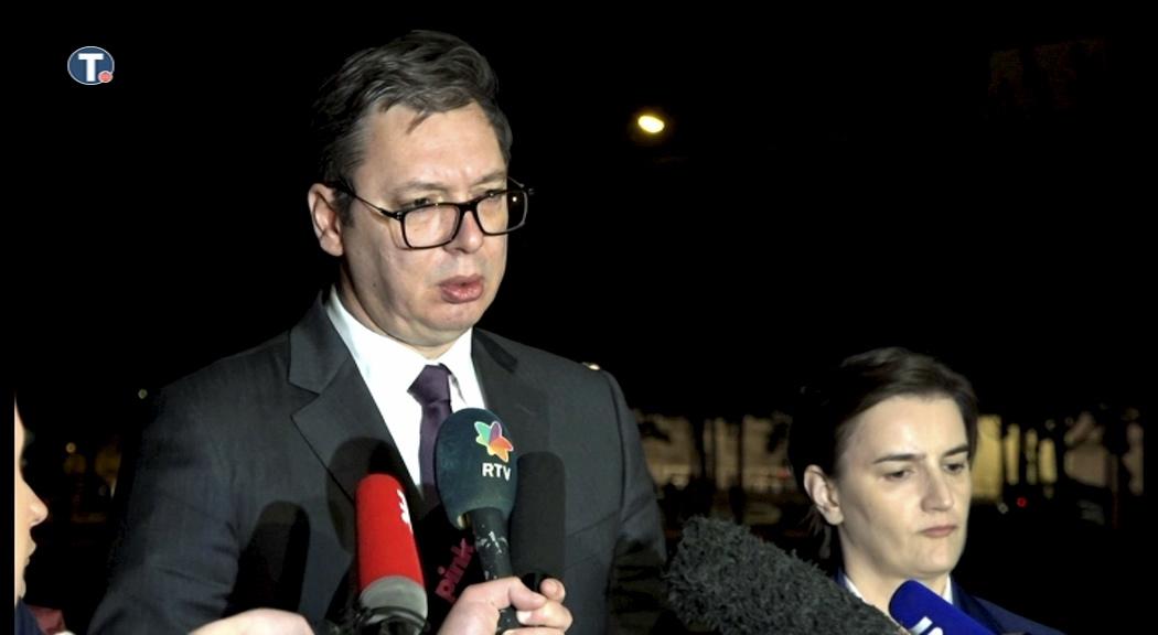 Vučić:Za razliku od Tačija,mi problem ne vidimo u EU