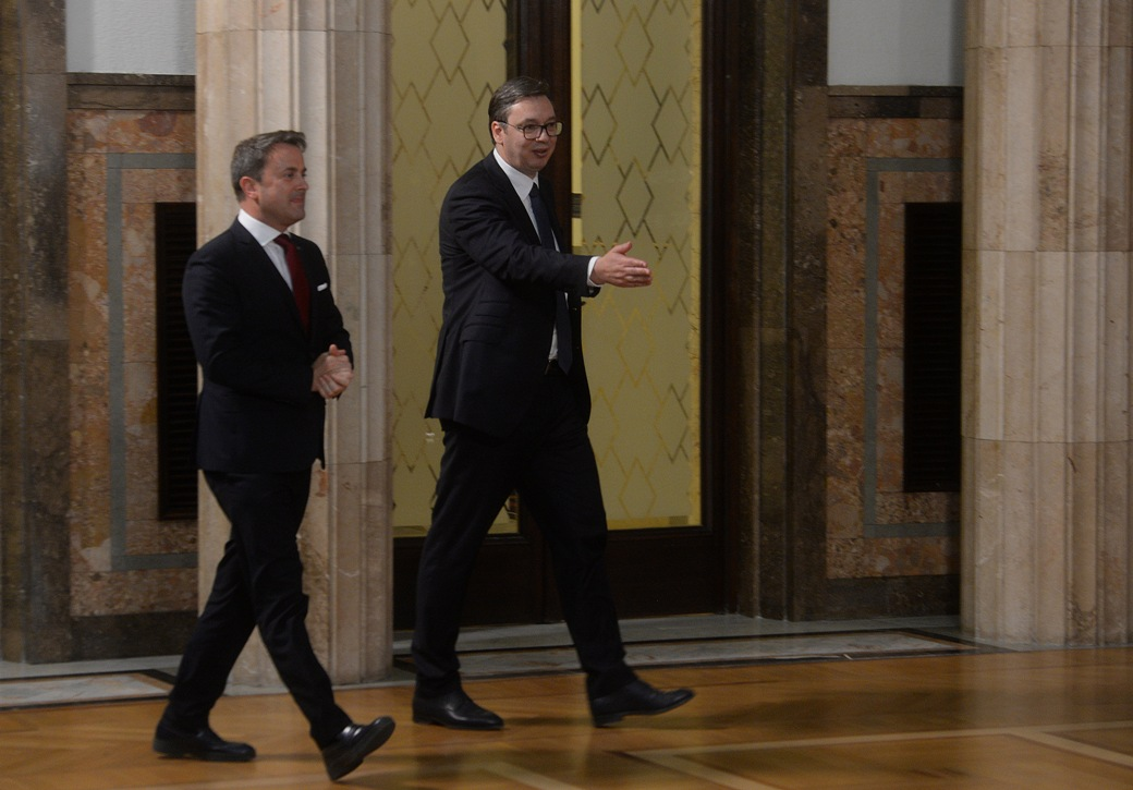 Vučić, Betel: Luksemburg je prijatelj Srbije