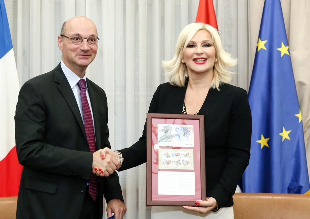 Mihajlovićeva i Mondoloni o poseti Makrona Srbiji