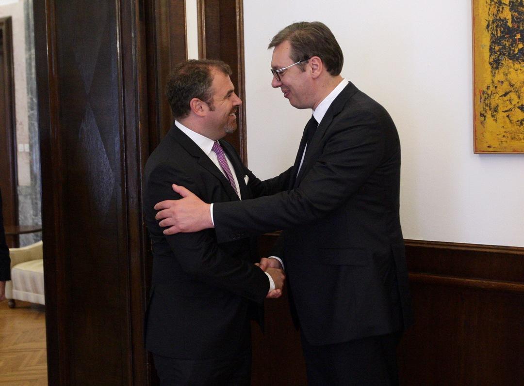 Vučić i Florijan Han o situaciji u regionu, kosovskom pitanju  i saradnji Srbije i Nemačke