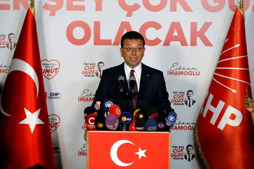 Imamoglu pobedio na izborima za gradonačelnika Istanbula