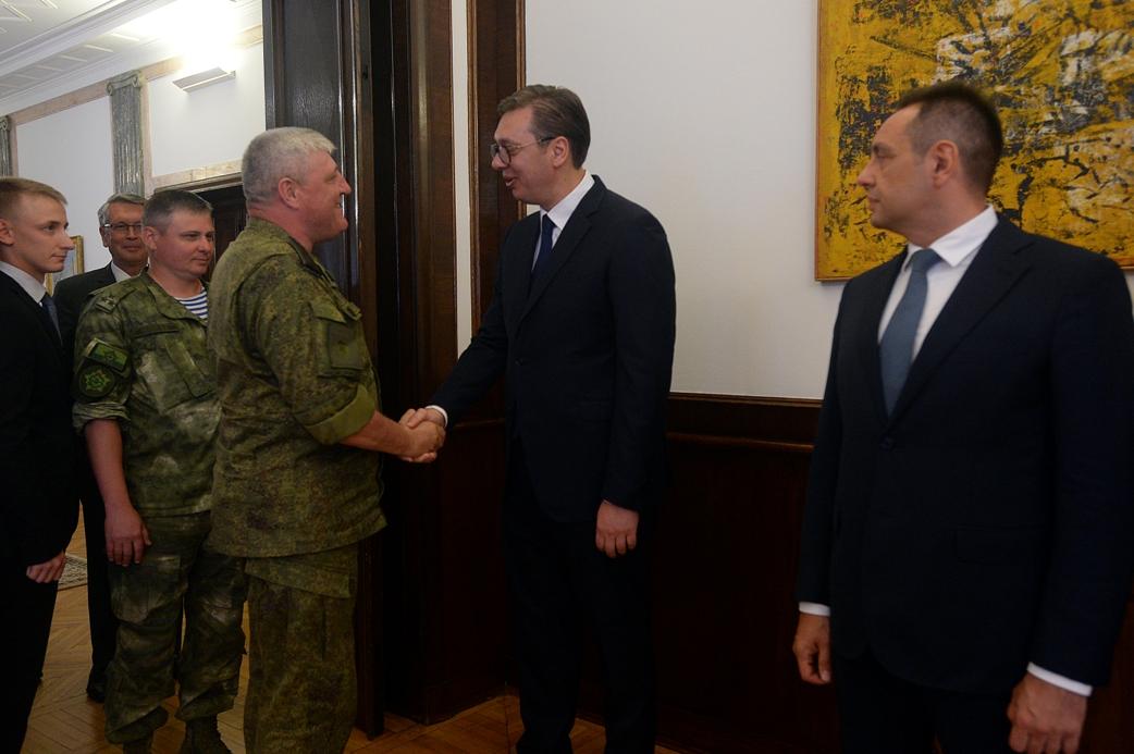 Vučić primio vojne delegacije Rusije i Belorusije