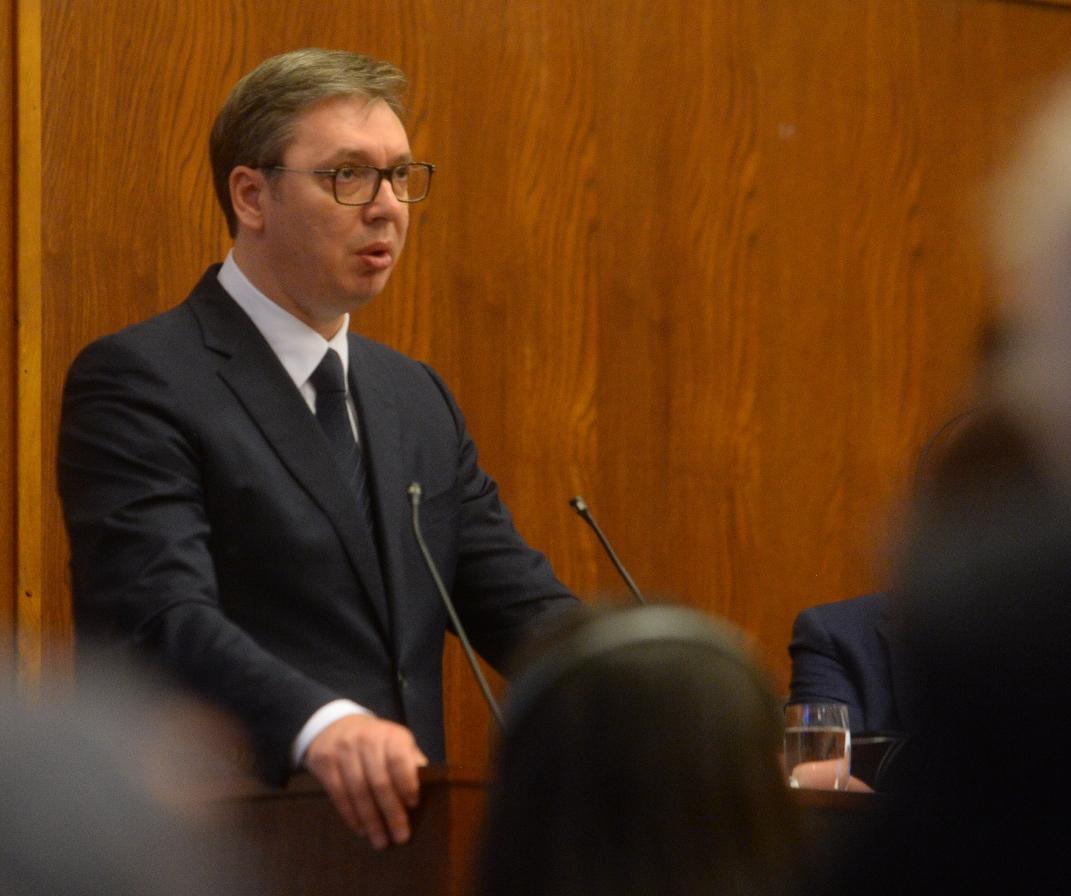 Vučić: U svetu razumeju razliku između ponašanja Beograda i Prištine