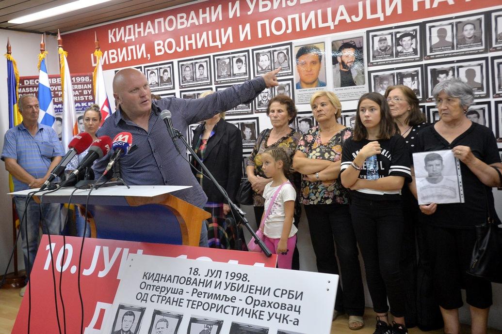 Obeležena 21. godišnjica otmice srpskih cvila u Orahovcu