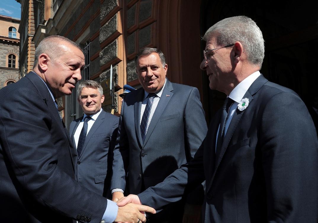 Erdogan: Spremni smo za sastanak Bosna i Hercegovina-Hrvatska-Srbija