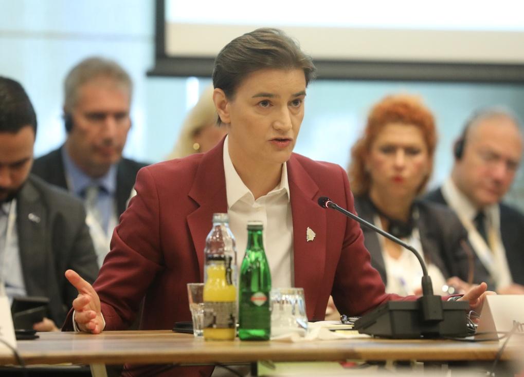 Brnabić: Evropska perspektiva suštinski važna za region