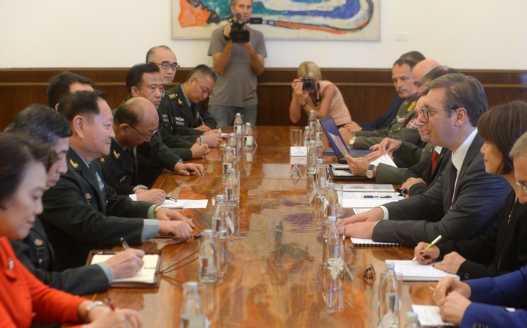Vučić sa delegacijom Kine:Čelično prijateljstvo dva naroda