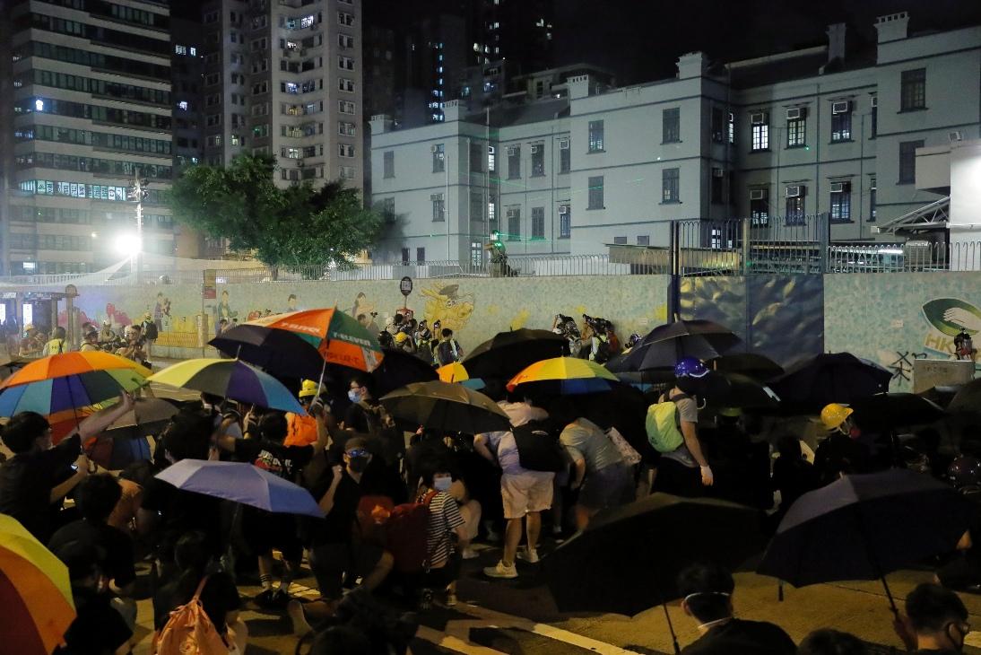 Policija ispalila gumene metke na demonstrante u Hong Kongu