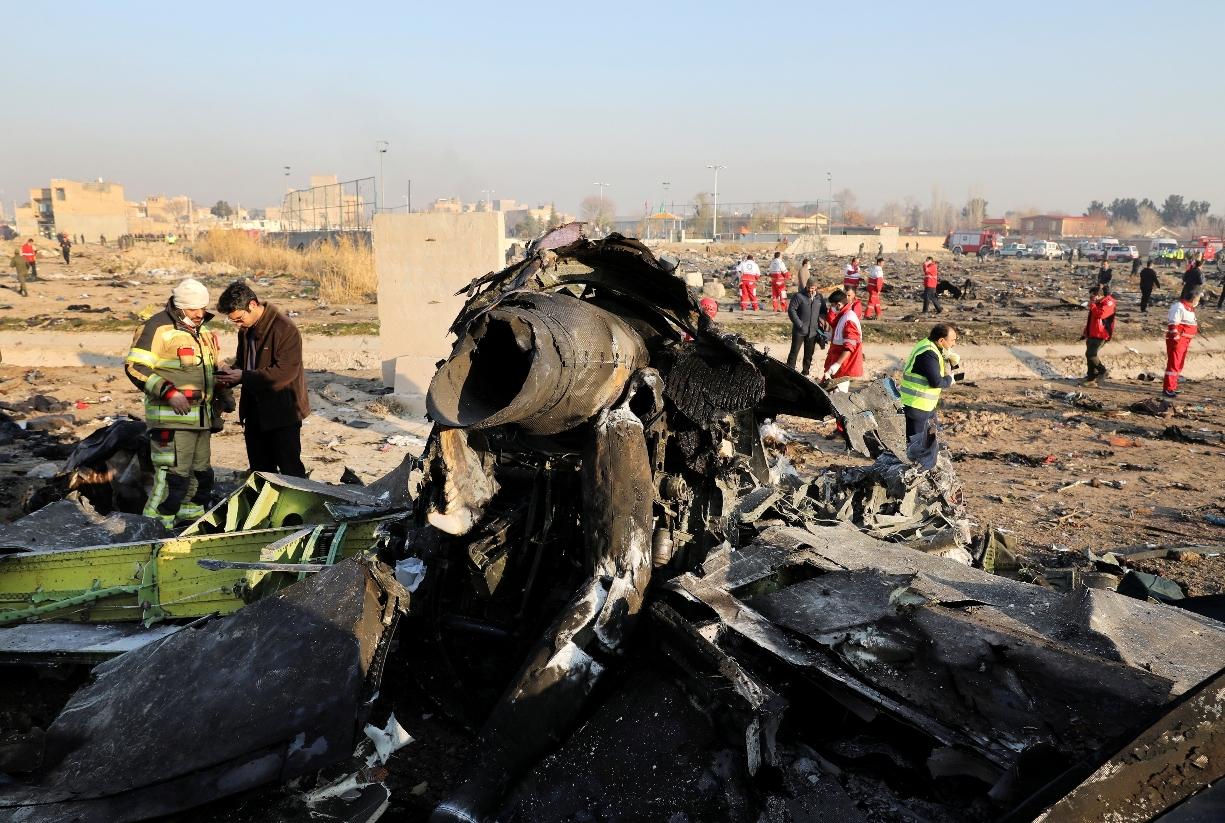 Iran priznao da je greškom oborio ukrajinski avion