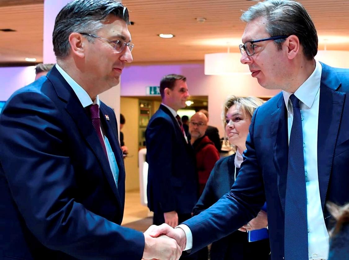Vučić: Otvoren i prijatan razgovor sa Plenkovićem