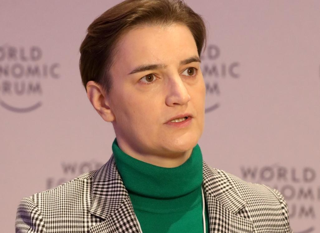 Brnabić: Važni sastanci u Davosu za srpsku ekonomiju