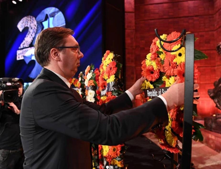 Vučić položio venac žrtvama Holokausta u centru Jad Vašem