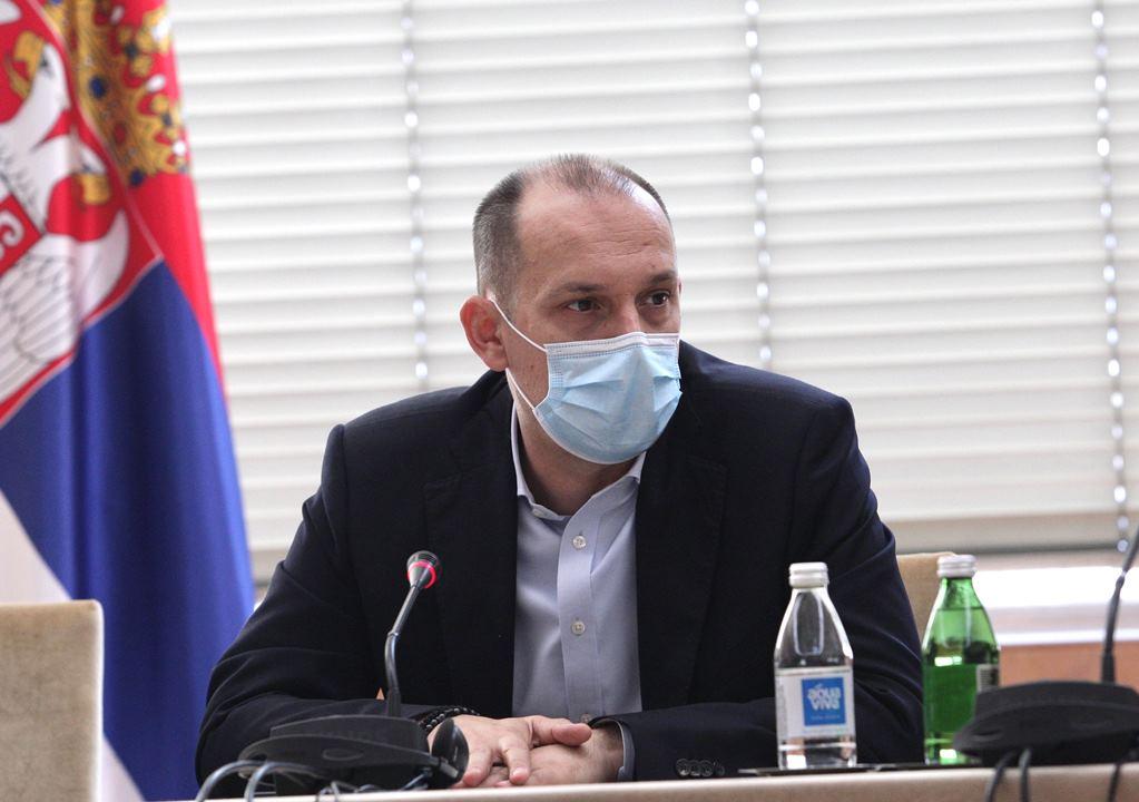 Lončar: Privremena bolnica u Areni krenula sa radom