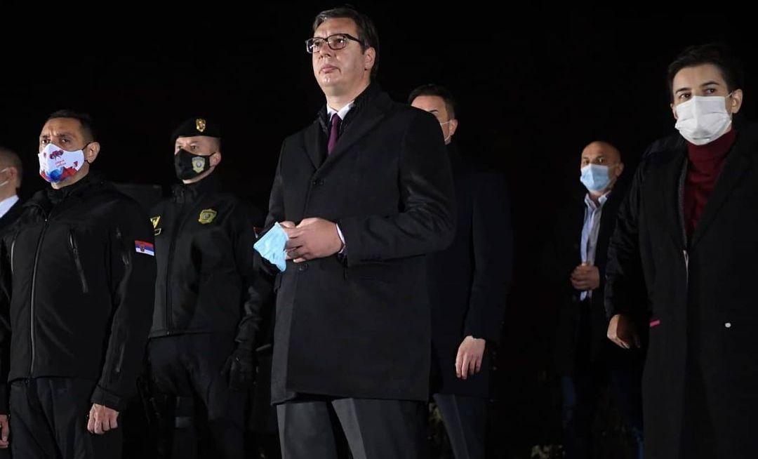 Vučić: Pripadnici MUP-a su garant bezbednosti i sigurnosti