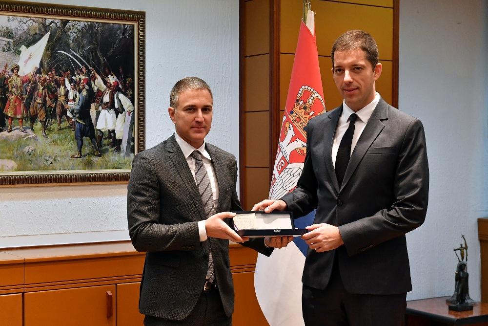 Stefanović i Đurić o rezultatima saradnje u odbrani sa SAD