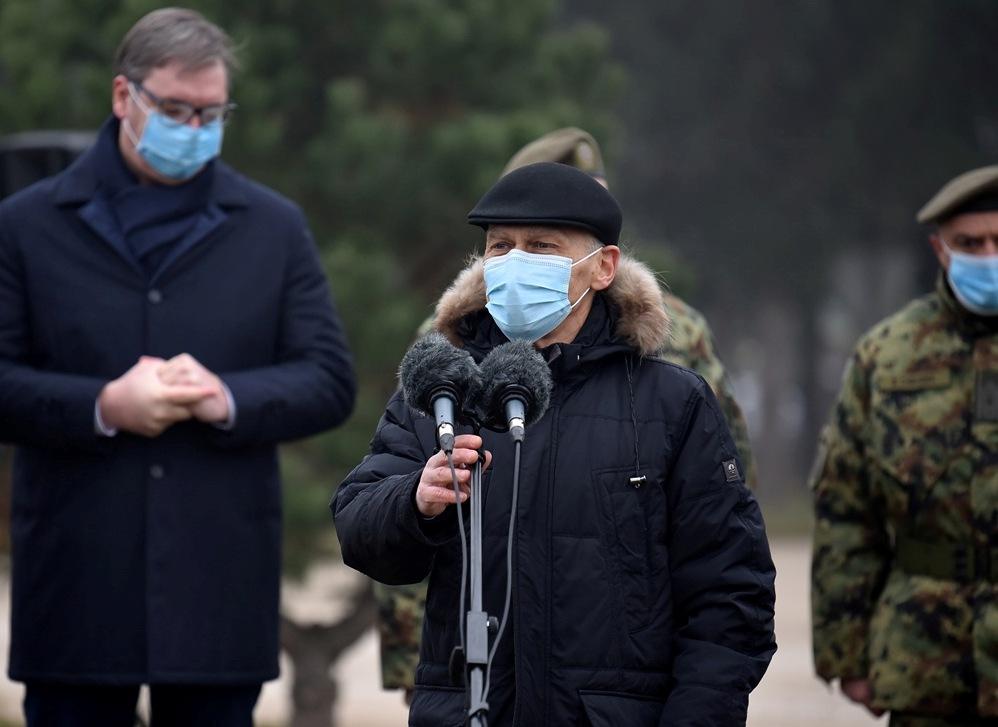 Harčenko: Početak nove faze vojno-tehničke saradnje