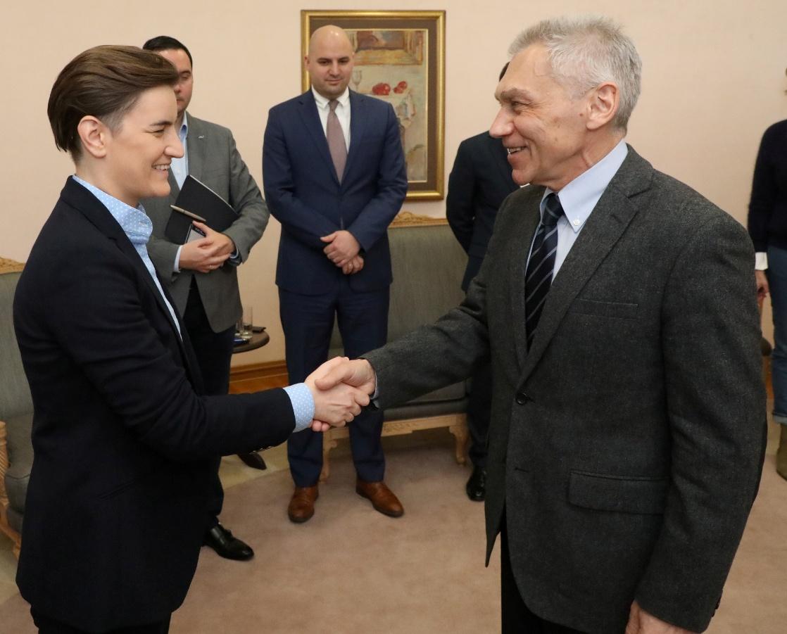 Brnabić sa Bocan-Harčenkom o saradnji dve zemlje