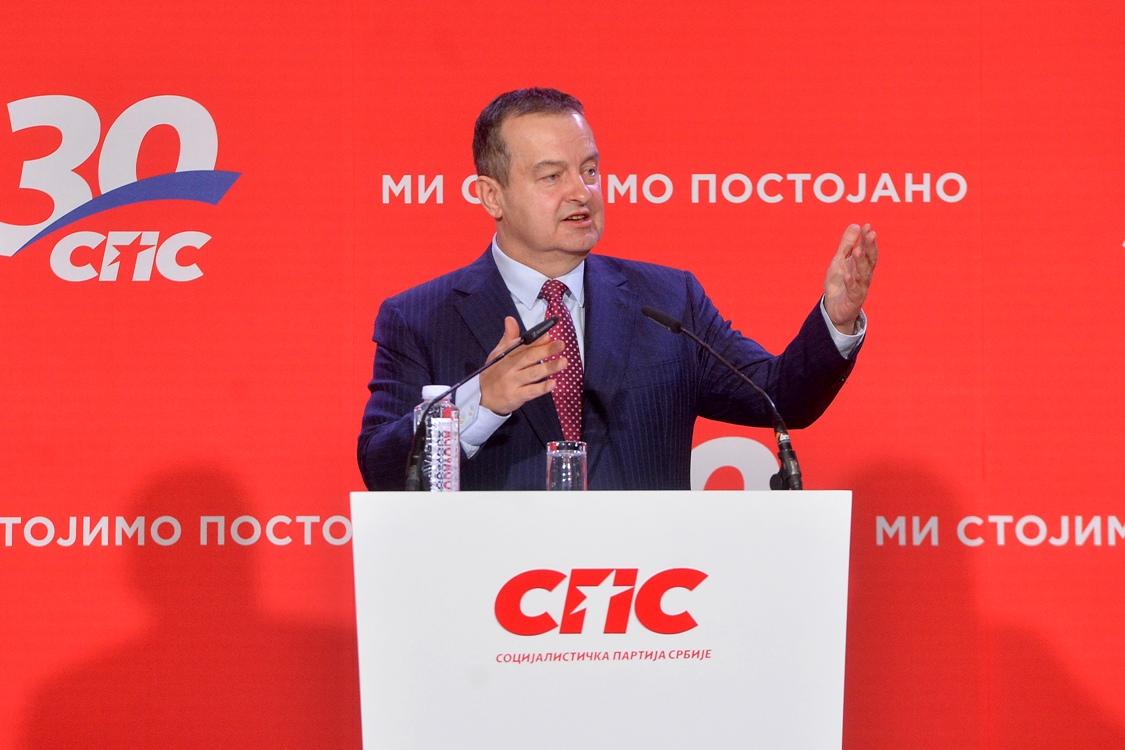 Dačić: Bez SPS teško može biti moderne i pravedne Srbije
