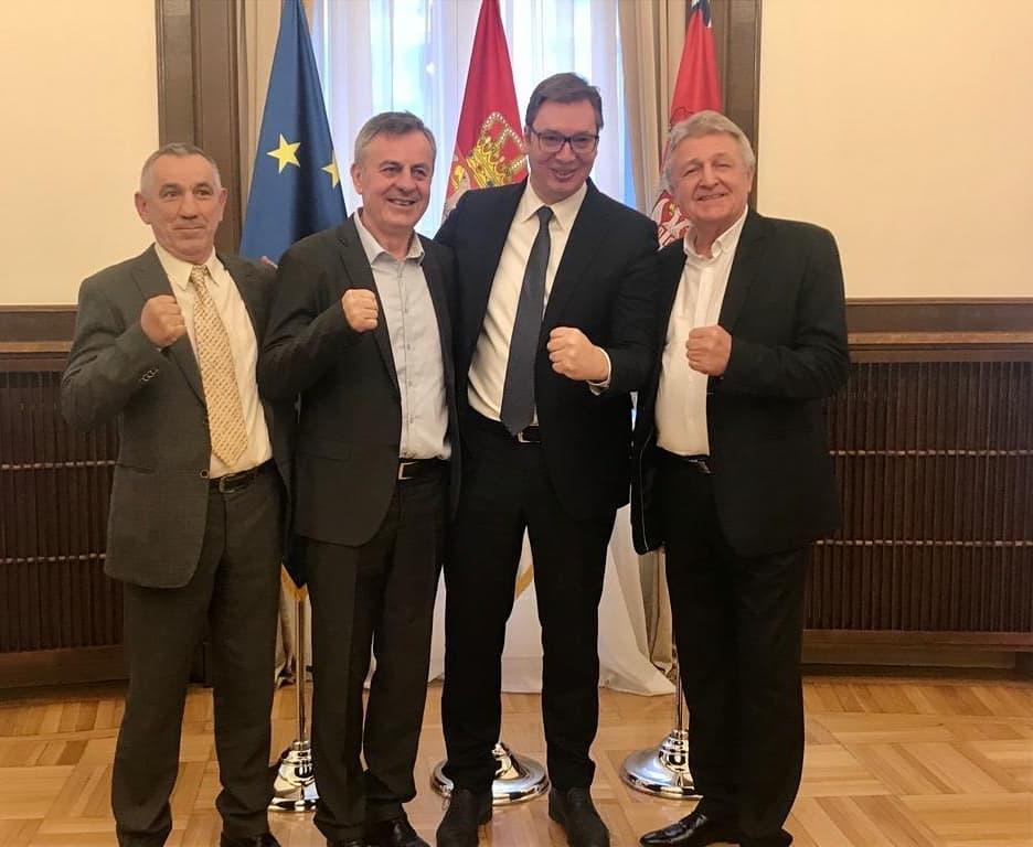 Vučić sa predsednikom Svetske bokserske federacije