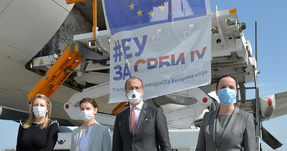 Brnabić: Stojimo zajedno sa EU pred ovim izazovima