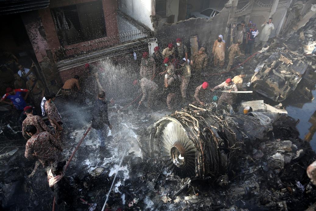 Raste broj žrtava avionske nesreće u Pakistanu