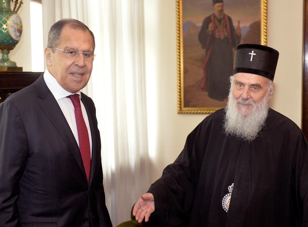 Patrijarh Irinej: Očekujemo veliku pomoć bratske Rusije i Ruske crkve da sačuvamo Kosovo