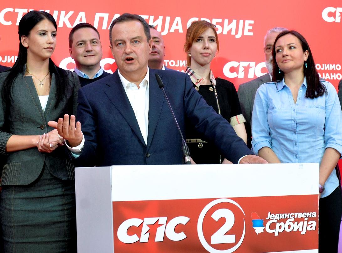 Dačić zadovoljan: Spremni smo za nastavak saradnje sa SNS