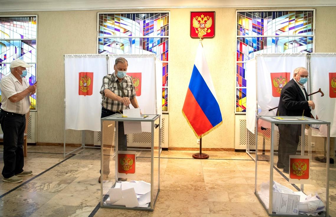 Rusija: Na osnovu 10% prebrojanih glasova 71 odsto podrške