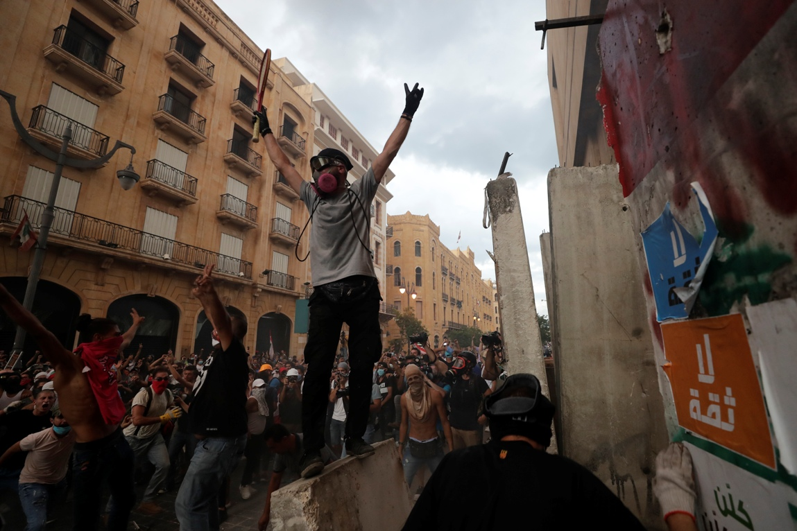 Demonstranti u Bejrutu ne odustaju - traže ostavku predsednika države