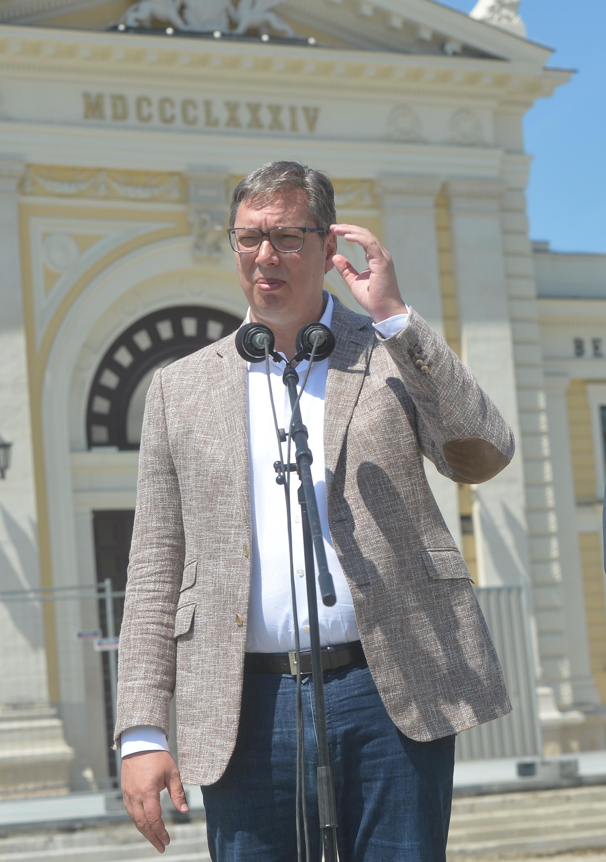 Vučić: Novi Savski trg biće najveći u Srbiji