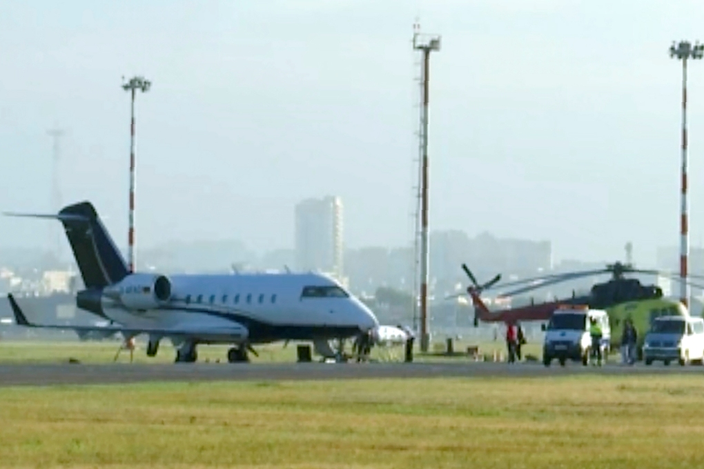 Avion sa Navaljnim poleteo sa aerodroma u Omsku, u toku prebacivanje za Berlin