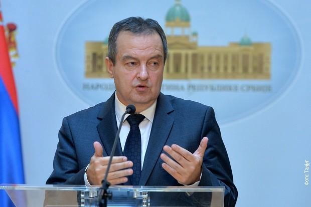 Dačić u Atini: Parlament u Srbiji odigrao važnu ulogu u uslovima krize