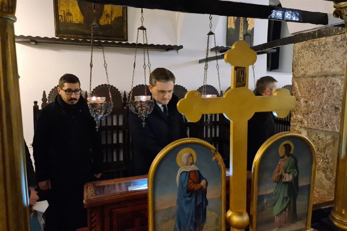 Selaković se sastao sa Hrizostomom i posetio Staru crkvu