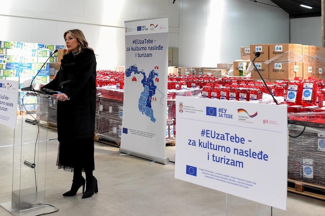 Joksimović: Zajedno sa EU u borbi protiv pandemije