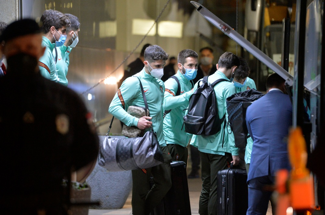 Portugalci predvođeni Ronaldom stigli u Beograd