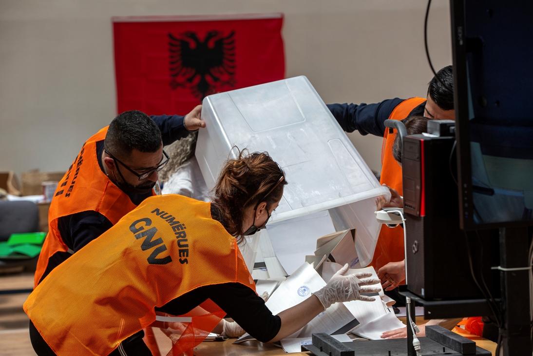 Brojanje glasova u Albaniji: Partija Edija Rame ima 49 odsto