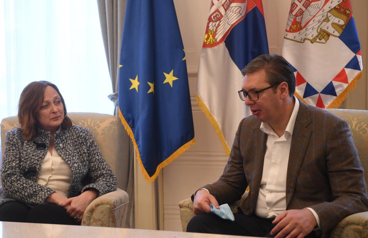 Vučić i Hargitaj: Izuzetna saradnja Srbije i EBRD