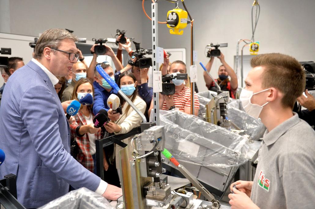 Na otvaranju FTS u Priboju najavljene nove nemačke investicije