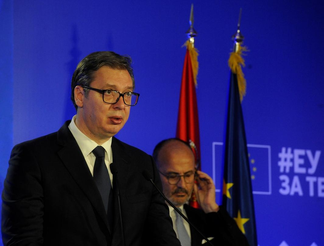 Vučić: Evropu smatramo našom kućom