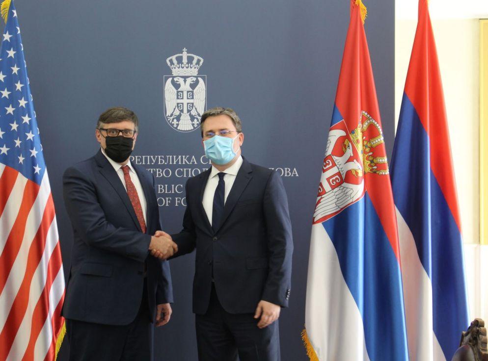 Selaković Palmeru: Neprihvatljivo izbegavanje Prištine da formira ZSO