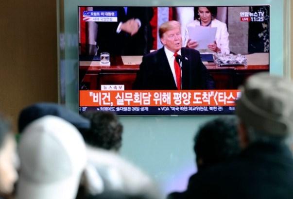 Donald Tramp i Kim Džong Un krajem februara u Vijetnamu
