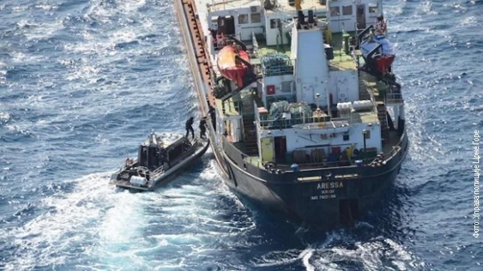 Jedanaest Crnogoraca uhapšeno zbog više od pet tona kokaina na brodu kod Arube
