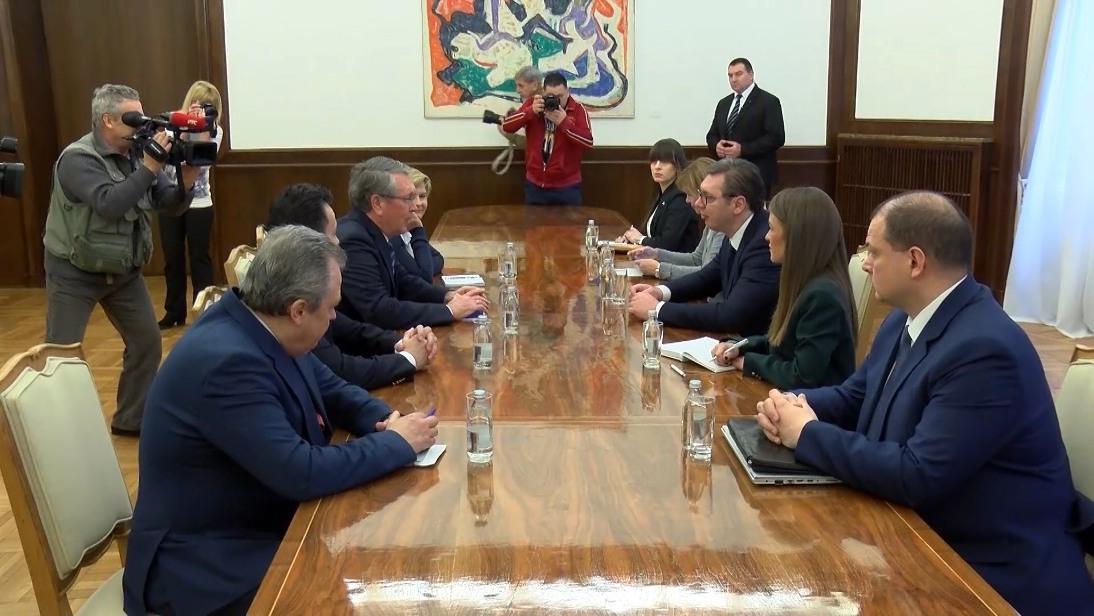 Vučić i Čepurin o srpsko-ruskim odnosima i regionalnoj situaciji