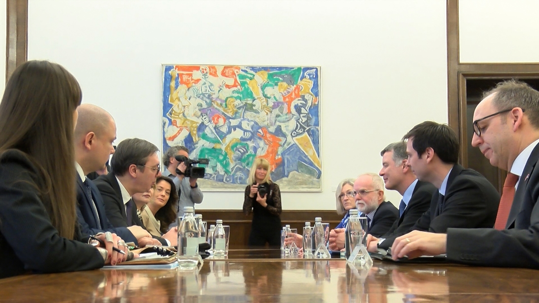 Vučić sa  Murom: Prvo ukidanje taksi, pa nastavak dijaloga