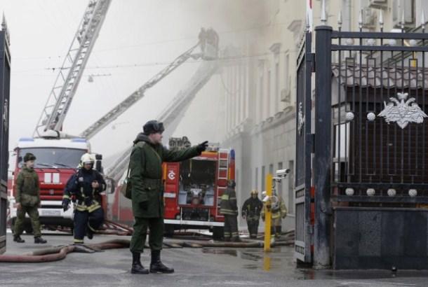 Požar u Krasnojarsku, osam mrtvih