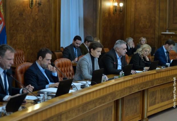 Vlada usvojila više predloga zakona i uredbi