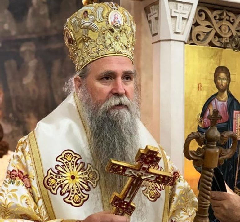 Episkop Joanikije u samoizolaciji, dobro se oseća