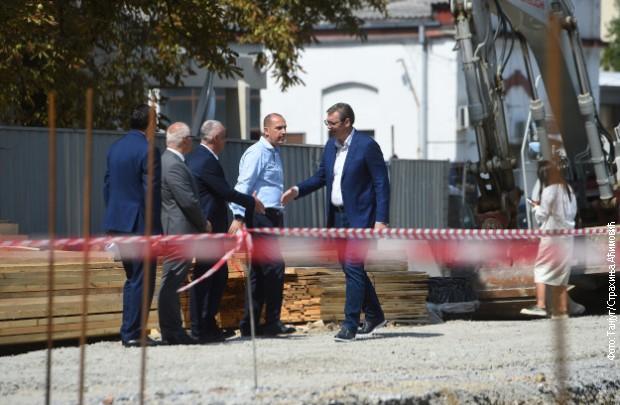 U KSC završni radovi, Vučić: Izgledaće kao ''spejs šatl''