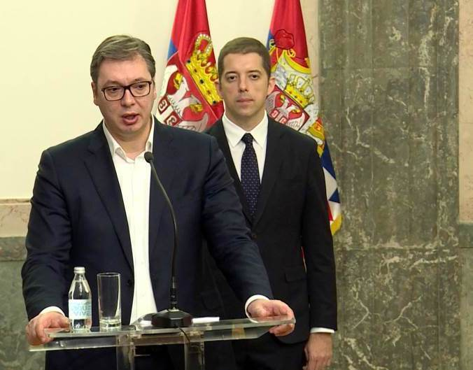 Vučić: Posle Đurića u Berlinu još izvesnije da Pariza neće biti